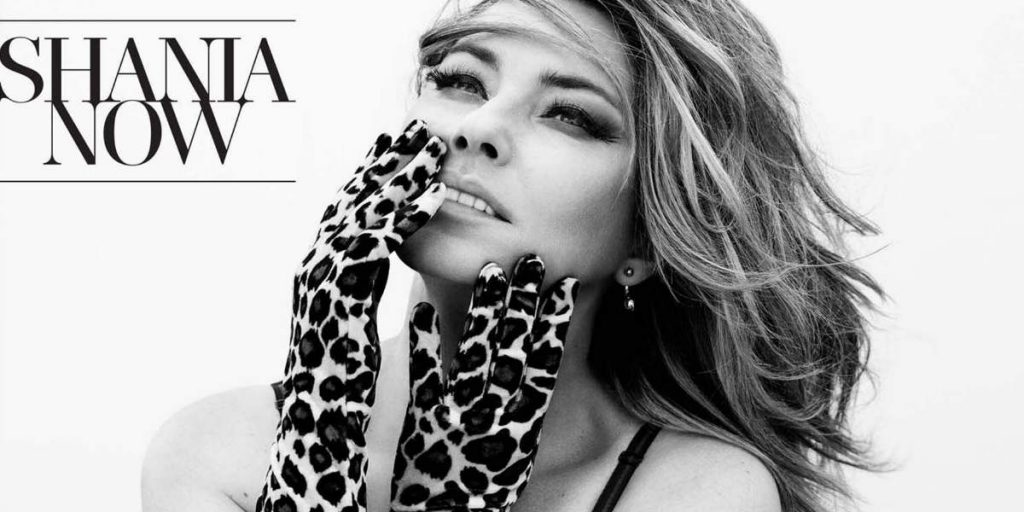 Shania Twain Now Album Cover