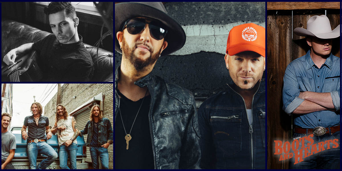 Thursday lineup for Boots & Hearts 2018 - LOCASH, Blackjack Billy, Devin Dawson, Jade Eagleson