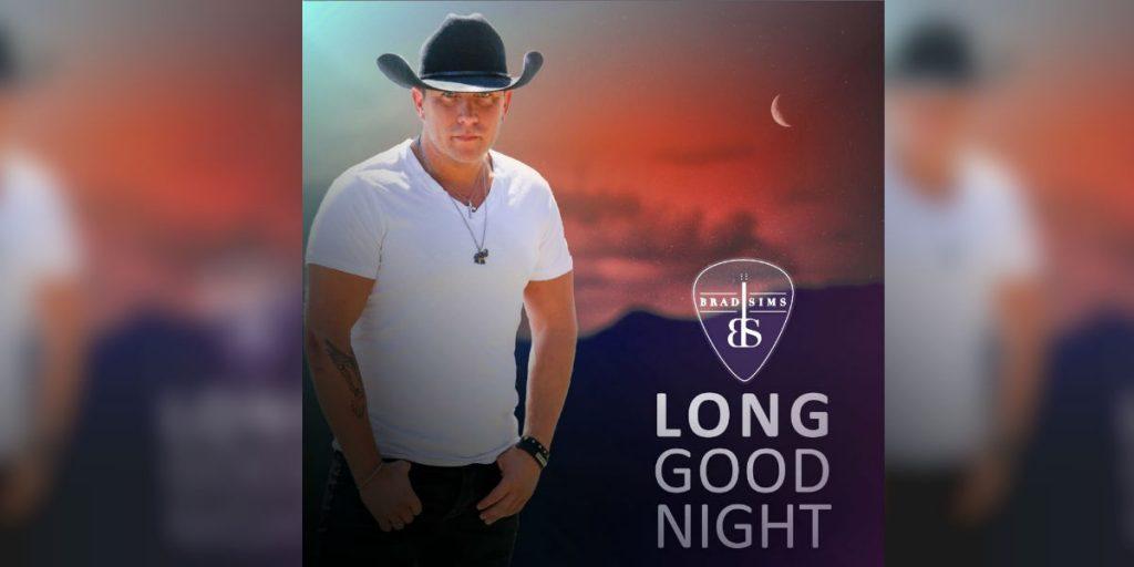 "Brad Sims cover art for ""Long Good Night"""