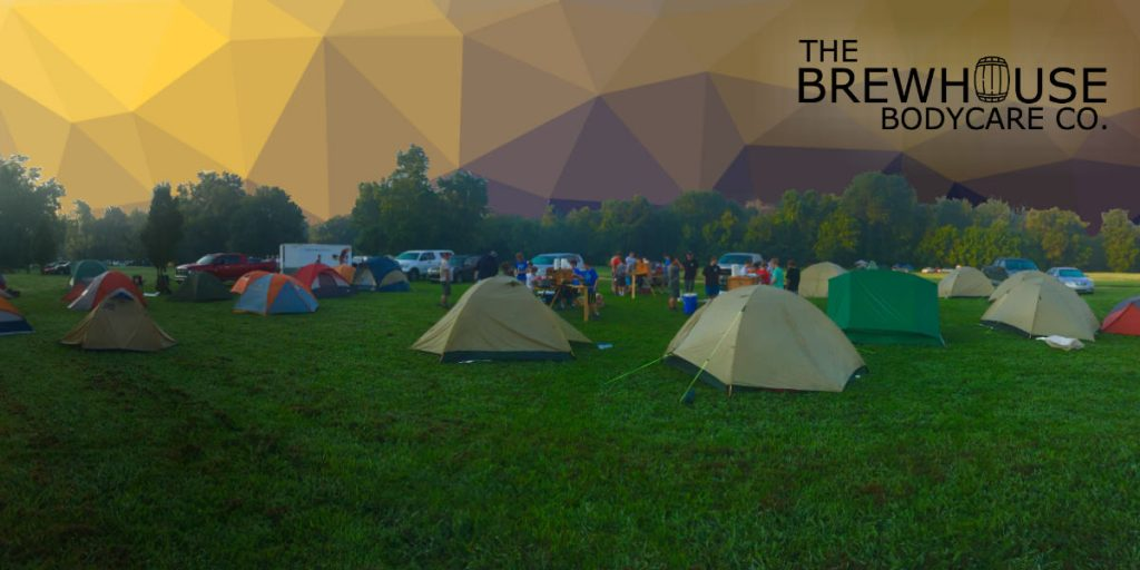 Festival survival kit by the Brewhouse Bodycare Co.