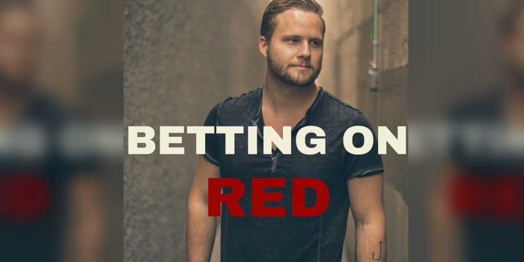 """""""Betting on Red"""" by Michale Daniels cover art"""