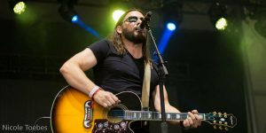 Brad James performs at Boots & Hearts Music Festival in Oro-Medonte