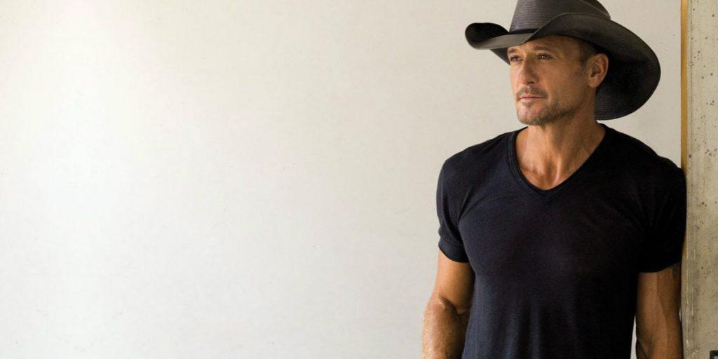 Tim McGraw headlining the Saskatchewan Country Thunder Music Festival