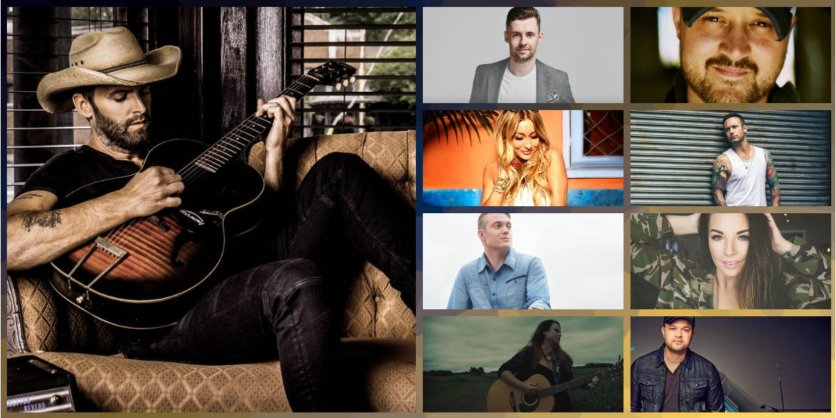 Top country songs in Canada in 2018