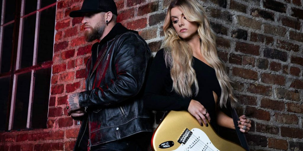 """Lindsay Ell and Brantley Gilbert together for """"What Happens in a Small Town"""""""