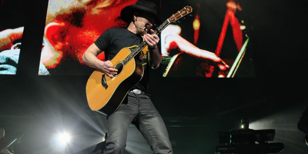 Paul Brandt Performing live in Edmonton at Rogers Place