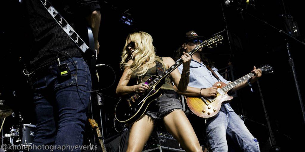 Meghan Patrick Performing on Stage