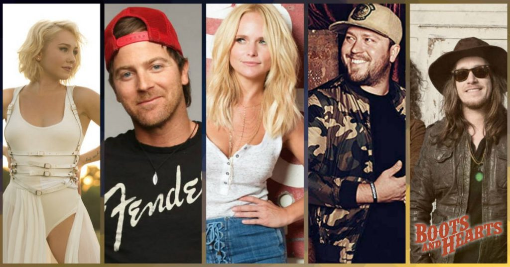 Miranda Lambert, Kip Moore, Mitchell Tenpenny and more are performing on Saturday at the 2019 Boots & Hearts Music Festival
