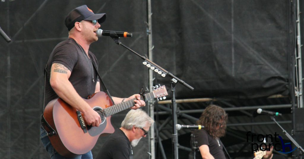 Tim Hicks performing at Big Sky Music Festival