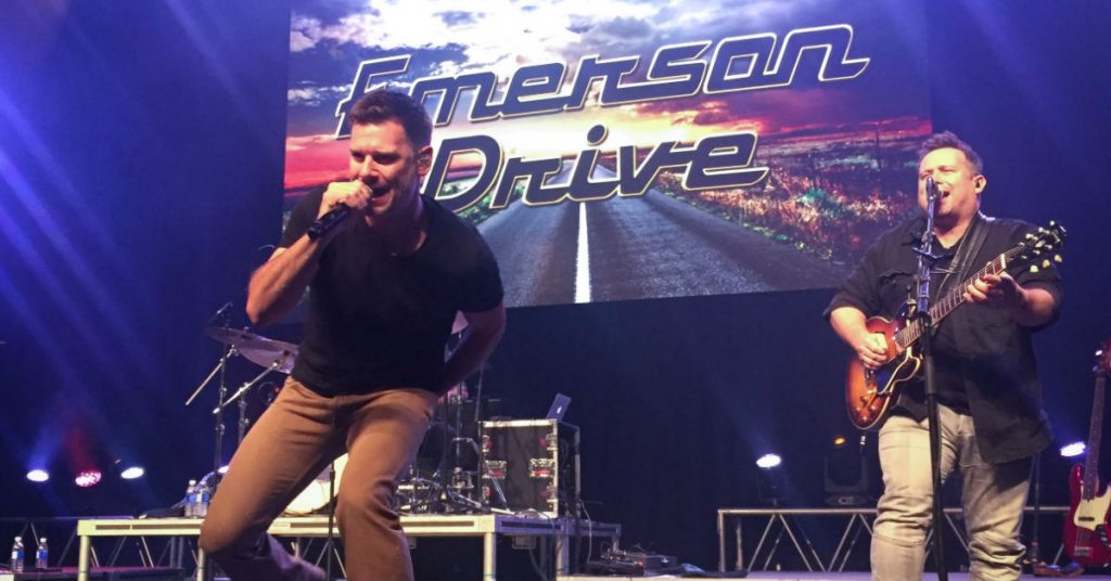 Emerson Drive performing at the River Cree Resort and Casino in Edmonton