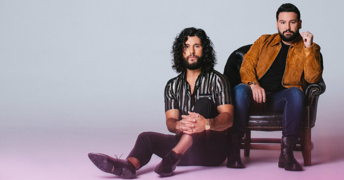 Dan and Shay performing at the 2021 Boots & Hearts Music Festival
