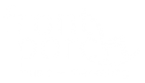 Front Porch Music Marketing Logo