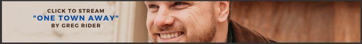 "Greg Rider's Single ""One Town Away"""