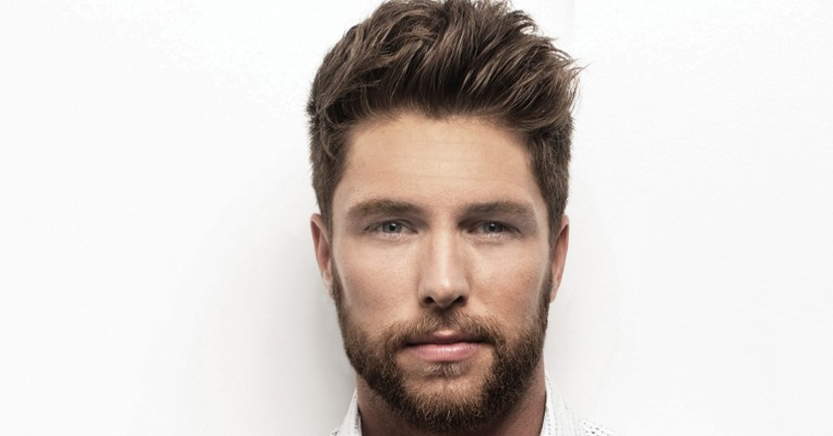 Chris Lane performing at the 2021 Boots & Hearts Music Festival