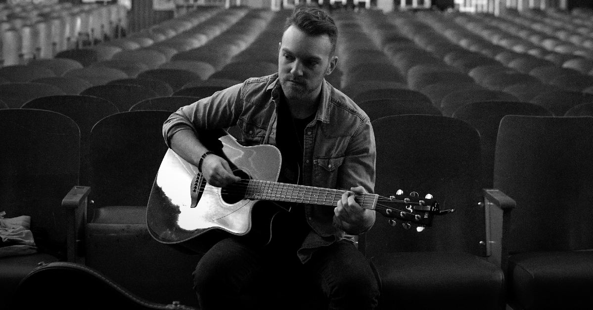 Toronto Country Artist Matt Teed Plays Guitar