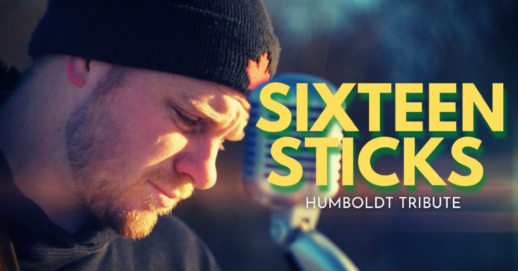"Greg Rider's music video for ""Sixteen Sticks"""