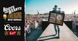 David Boyd Janes Winning the 2019 Boots & Hearts Emerging Artist Showcase