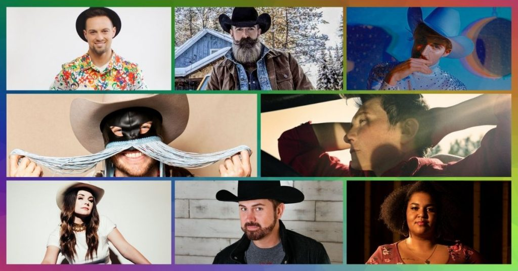 Gay Canadian Country artists