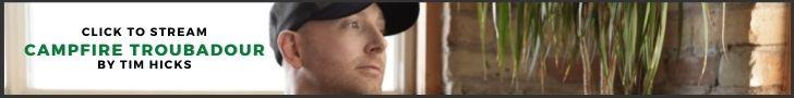 """Stream Tim Hicks' latest EP """"Campfire Troubadour"""""""