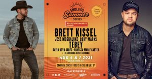 2021 Endless Summer Series Lineup ft. Brett Kissel and Tebey