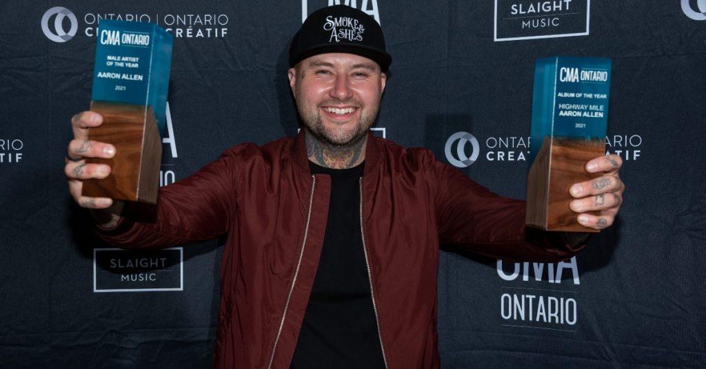Aaron Allen wins two CMAO Awards