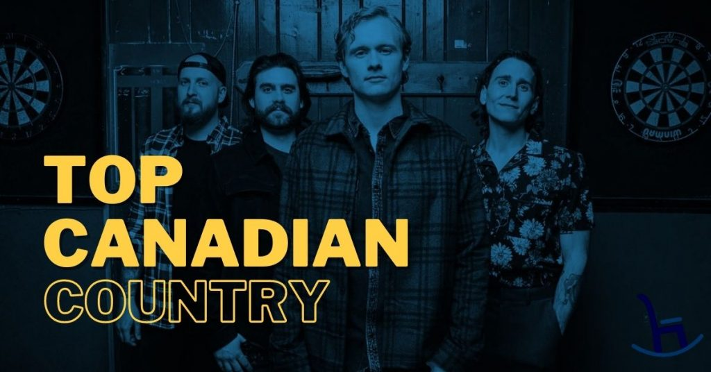 James Barker Band - the cover of the Top Canadian Country Playlist on Spotify